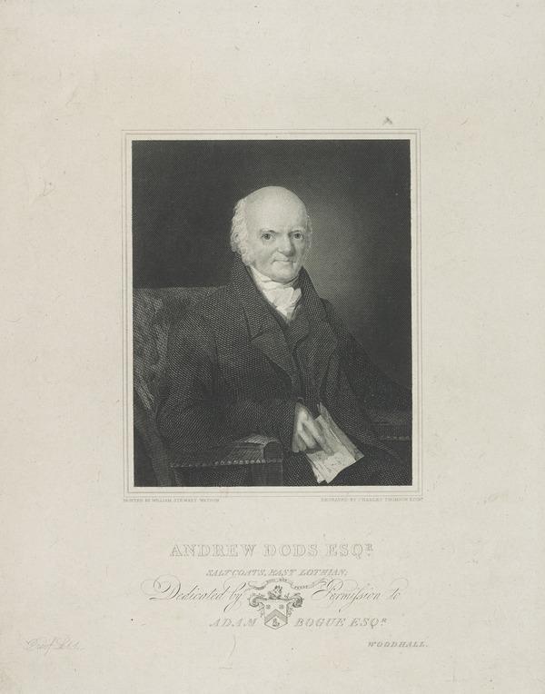 Andrew Dods. Saltcoats, East Lothian