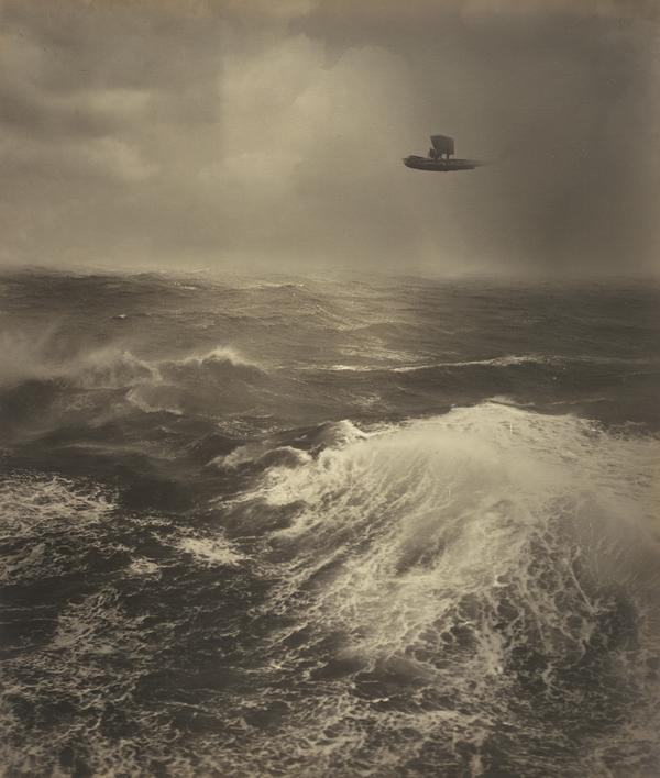 Flying Boat Over Sea (1930)