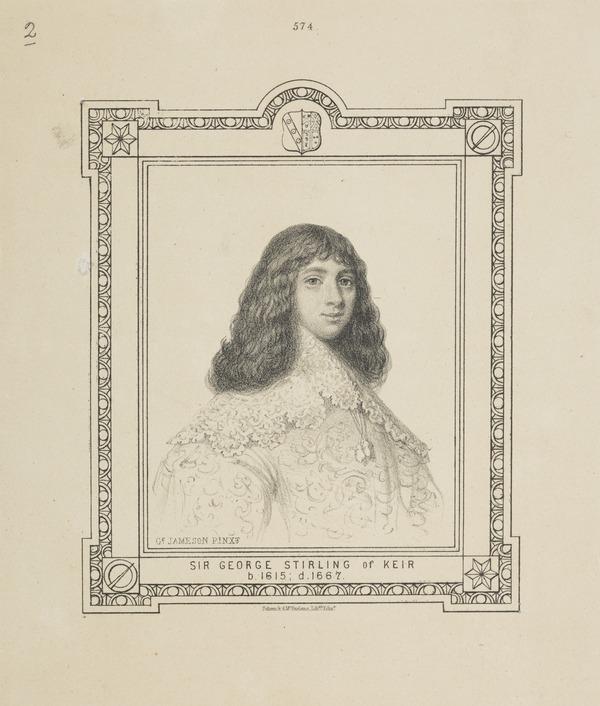 Sir George Stirling, 1615 - 1667