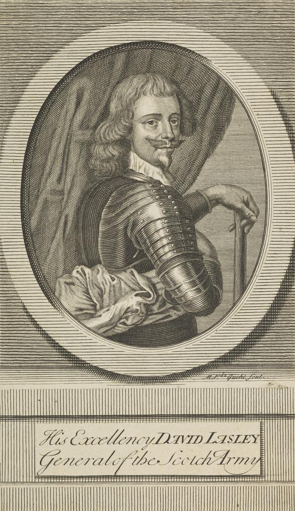 Alexander Leslie, 1st Earl of Leven, c 1580 - 1661. Soldier (Published 1713)