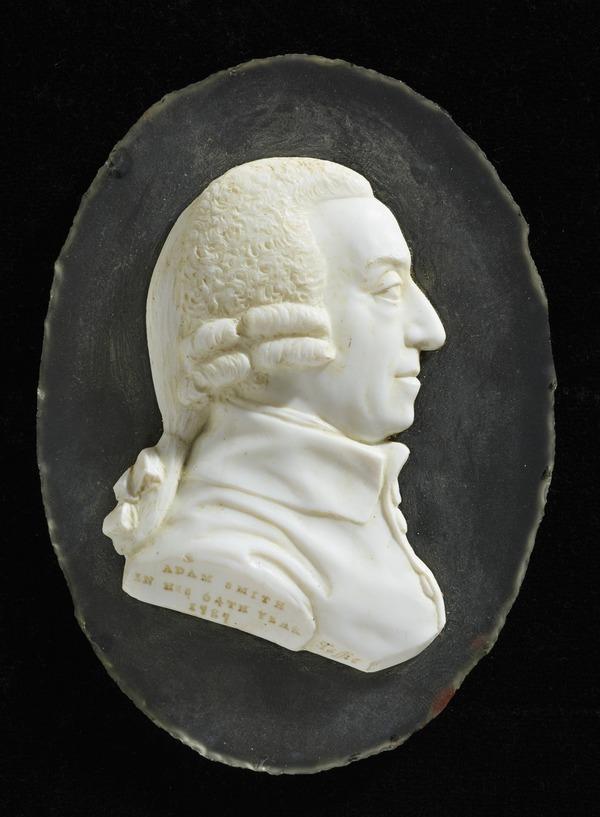 Adam Smith, 1723 - 1790. Political economist (1787)