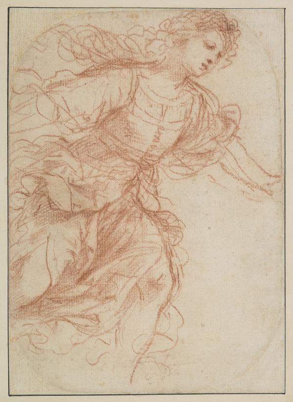 Study for the Painting 'Erminia Finding the Wounded Tancred' (About 1650)