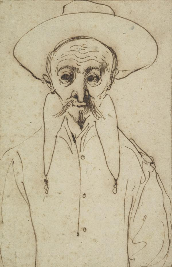 Study of a Man with a Hat