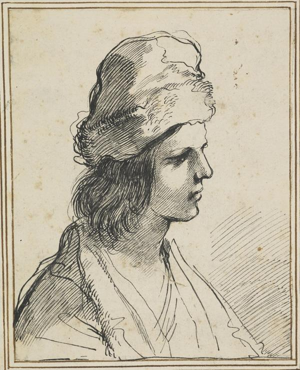 Bust of a Youth with Fur-Lined Cap
