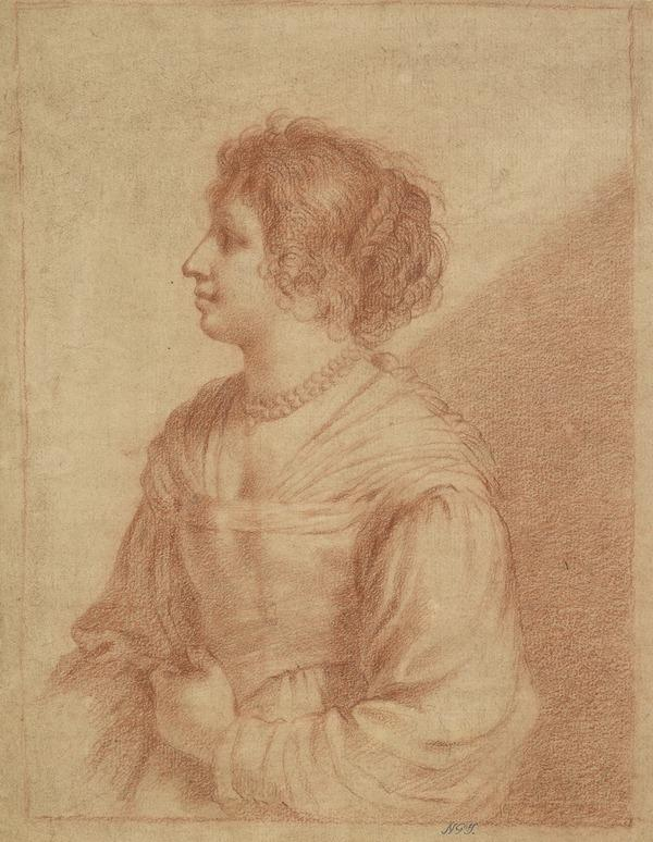 Half-Length Female Portrait