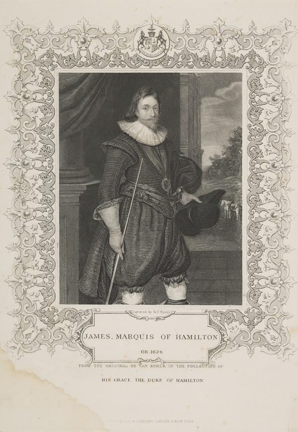 James Hamilton, 2nd Marquess of Hamilton, 1589 - 1625. Statesman