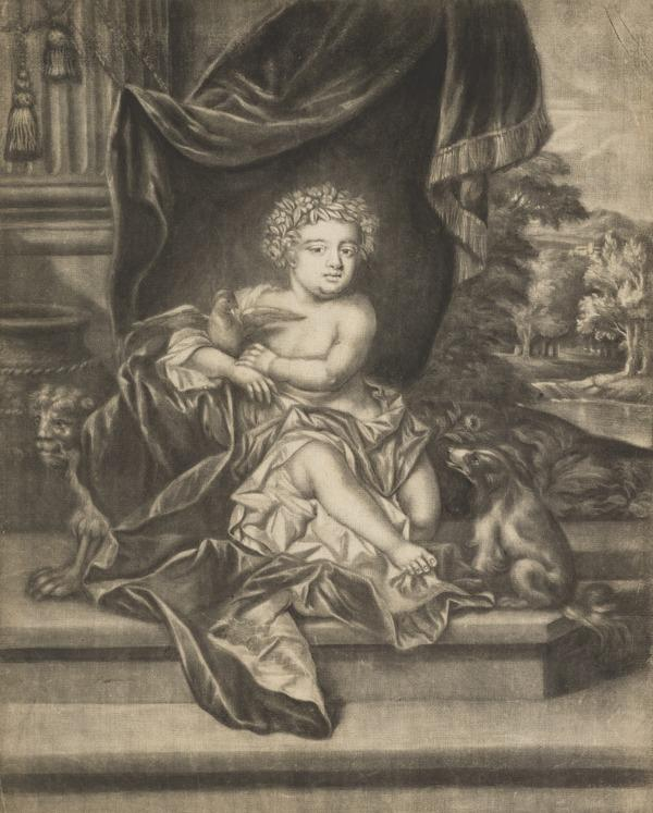 Isabella of York, 1676 - 1680. Daughter of James, Duke of York, afterwards James VII and II