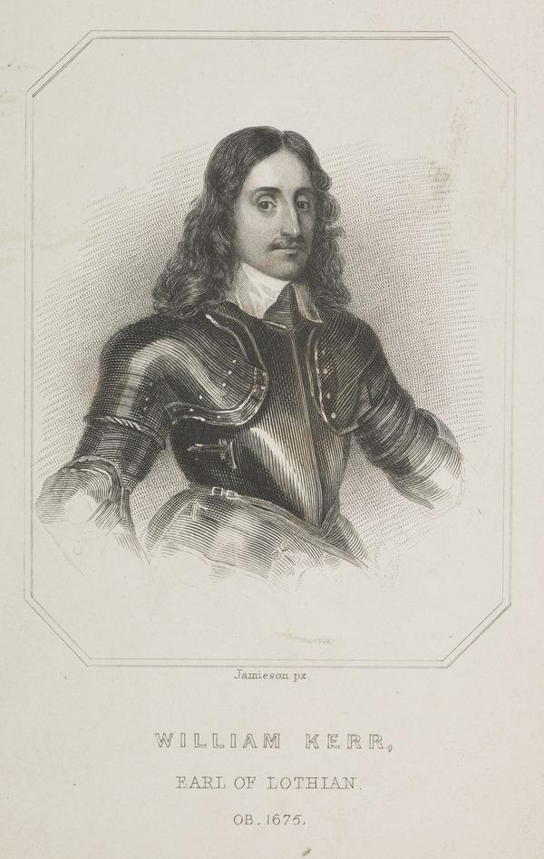 William Kerr, 3rd Earl of Lothian, c 1605 - 1675