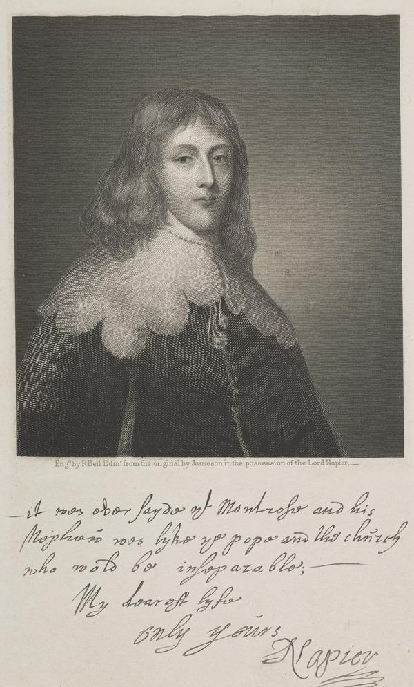 Archibald Napier, 2nd Lord Napier, d. 1658 (Published 1856)