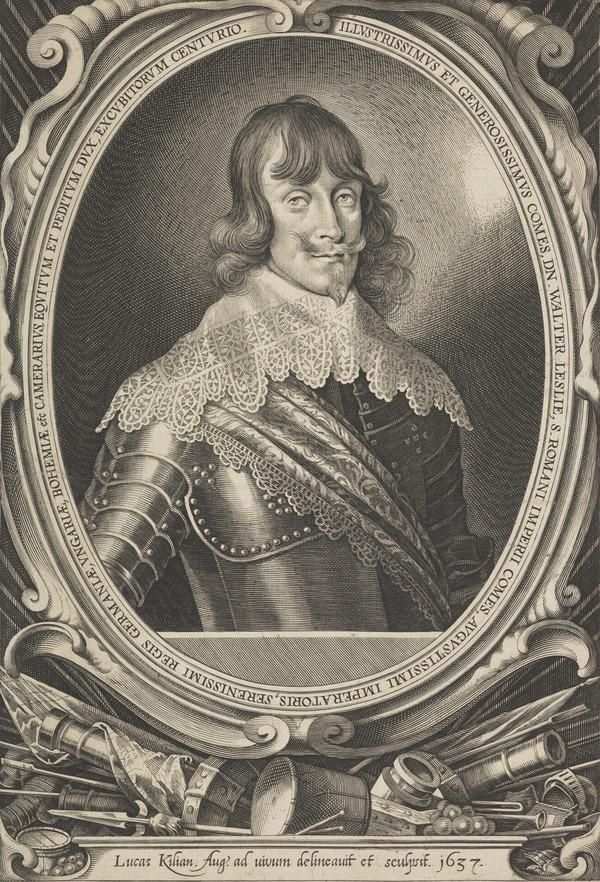 Walter Leslie, 1606 - 1667. Soldier of fortune; diplomat (1637)