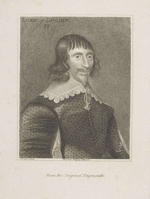John Campbell, 1st Earl of Loudoun, 1598 - 1663. Chancellor of Scotland (Published 1797)