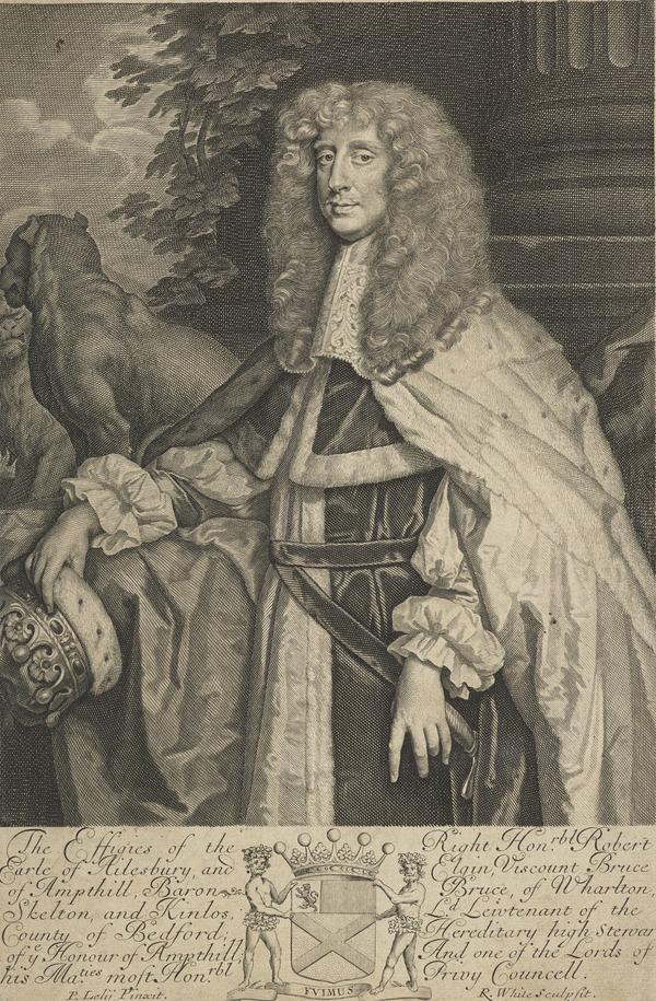 Robert Bruce, 2nd Earl of Elgin and 1st Earl of Ailesbury, d.1685. Lord Chamberlain