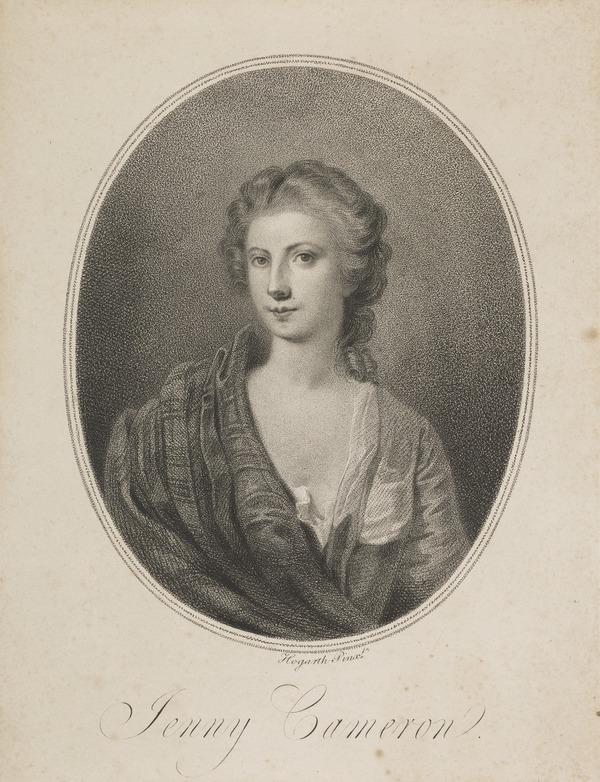 Jenny Cameron, c 1700 - 1790. Adventuress; supporter of Charles Edward Stuart