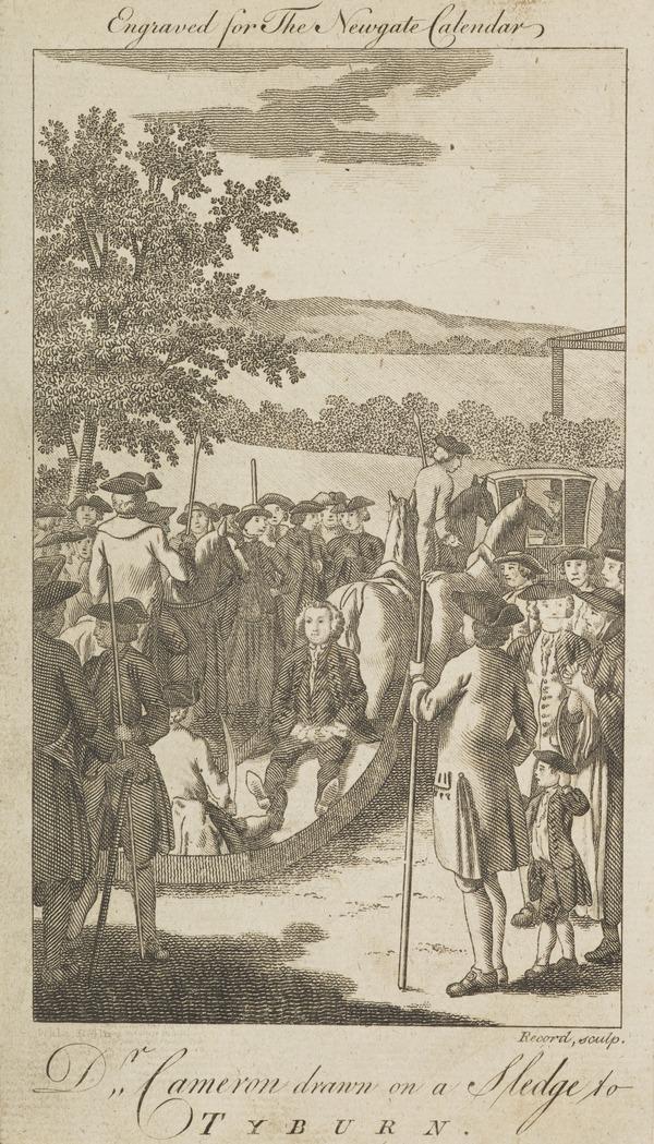 Dr Archibald Cameron, 1707 - 1753. Jacobite; executed for treason