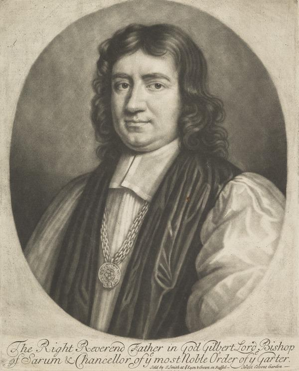 Gilbert Burnet, 1643 - 1715. Bishop of Salisbury