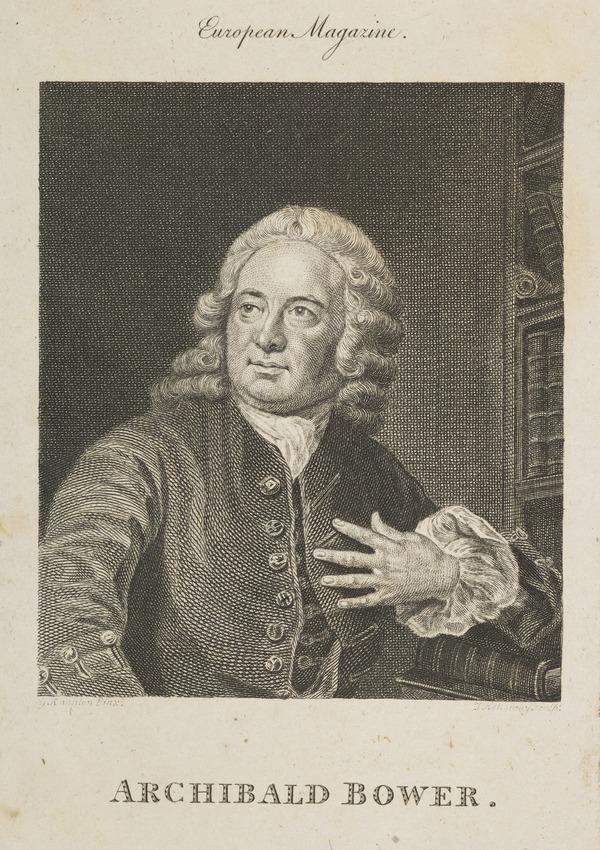 Alexander Bower, 1686 - 1766. Historian (Published 1794)