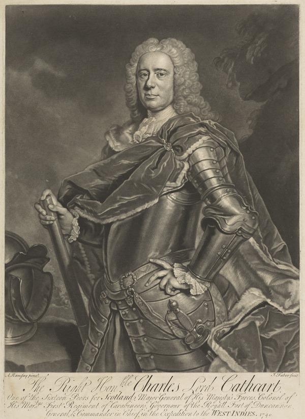 Charles Cathcart, 8th Baron Cathcart, 1686 - 1740 (1740)