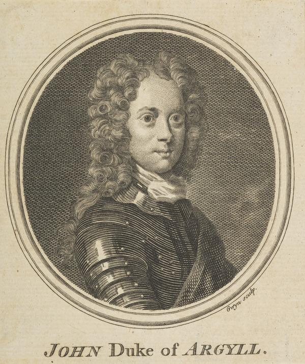 John Campbell, 2nd Duke of Argyll and Greenwich, 1678 - 1743. Soldier and statesman (Published 1757)