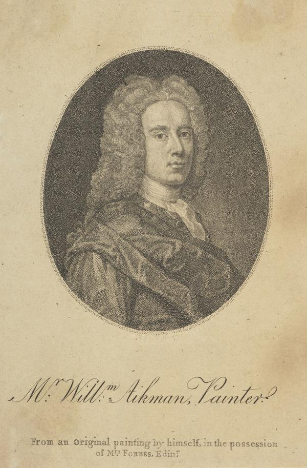 William Aikman, 1682 - 1731. Artist (Published 1793)