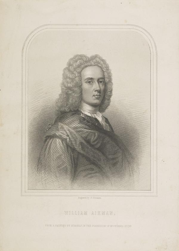 William Aikman, 1682 - 1731. Artist