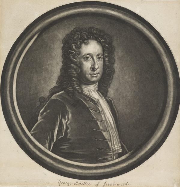 George Baillie of Jerviswood, 1664 - 1738. Son of Sir Robert Baillie of Jerviswood