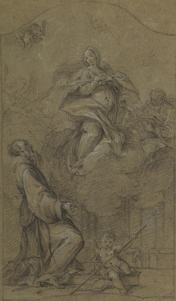 The Virgin Appearing to a Franciscan Saint