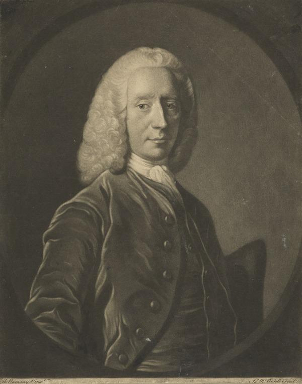 John Coutts, 1699 - 1751. Lord Provost of Edinburgh 1742 - 1744