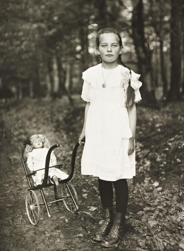 Girl with Carriage, c. 1927-30 (about 1927 - 1930)