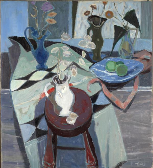 Still Life with Four Jugs (About 1960)