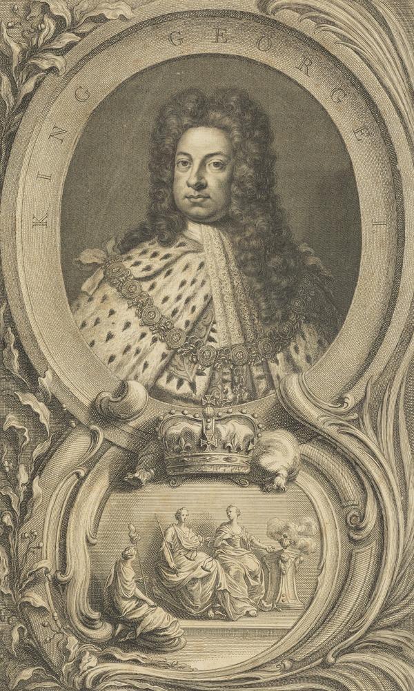 George I, 1660 - 1727. Reigned 1714 - 1727 (Published 1746)