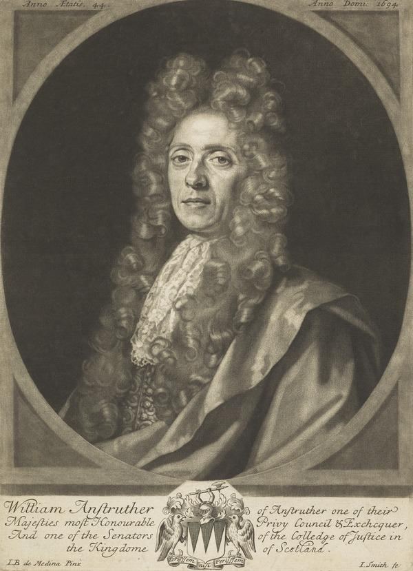Sir William Anstruther, Lord Anstruther, 1654 - 1711. Scottish judge