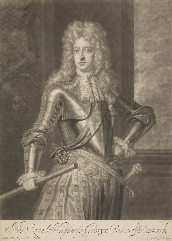 George, Prince of Denmark, 1653 - 1708. Consort of Queen Anne