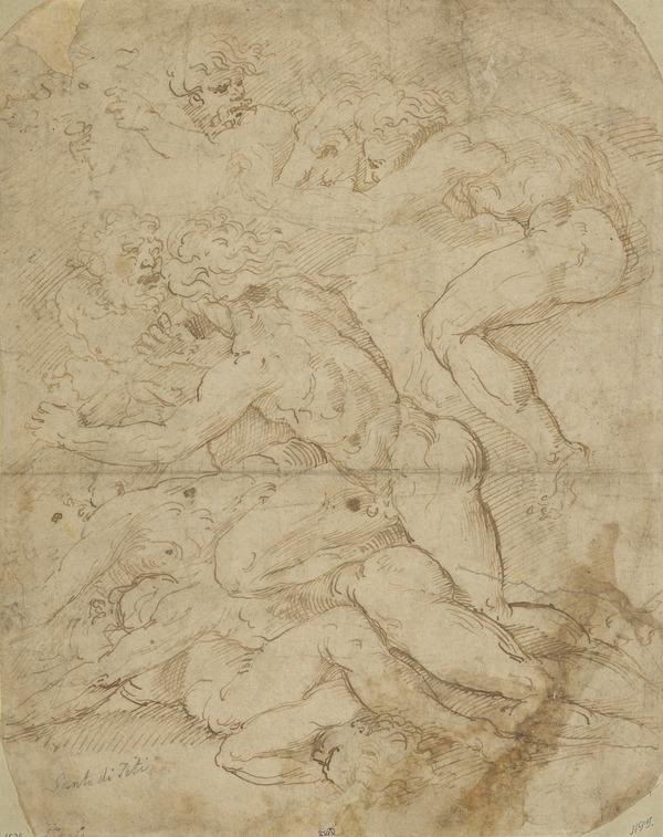 Battle of Nude Men