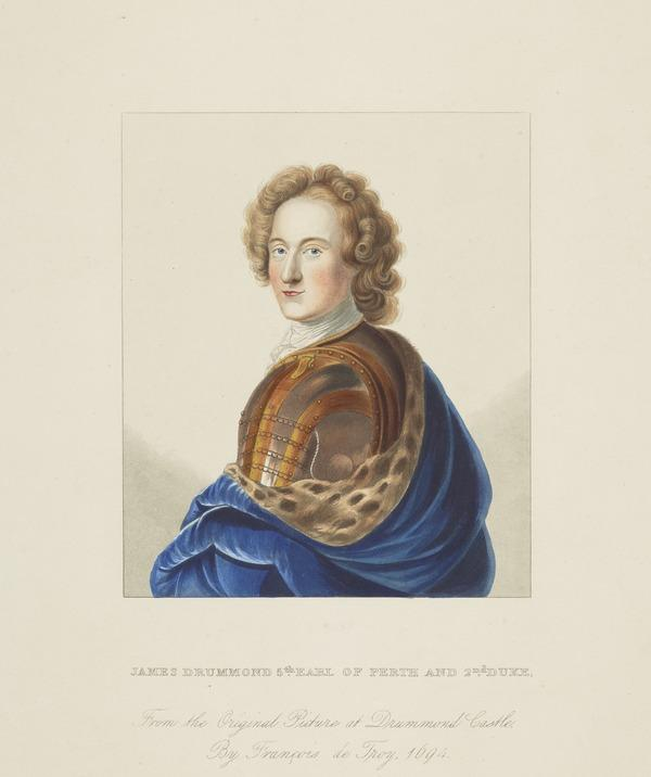 James Drummond, 2nd titular Duke of Perth, 1673 - 1720. Jacobite
