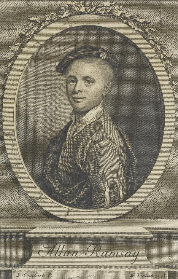 Allan Ramsay, 1684 - 1758. Poet (Published 1728)