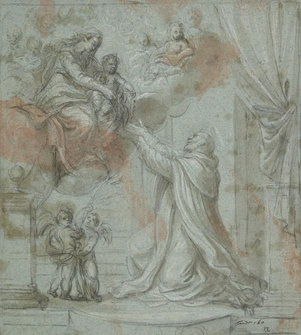 Vision of Saint Dominic (The Madonna of the Rosary)