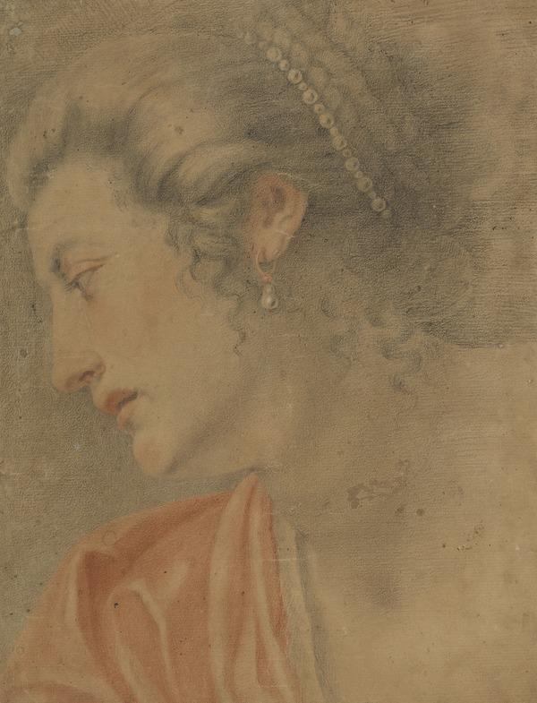 Profile Head of a Woman