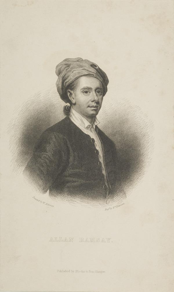 Allan Ramsay, 1684 - 1758. Poet