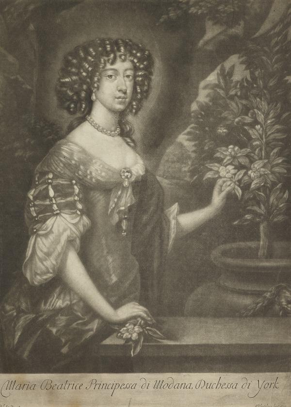 Mary of Modena, 1658 - 1718. Consort of James VII and II