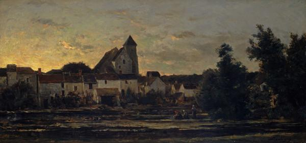 View of Montigny-sur-Loing (1857 - 1859)