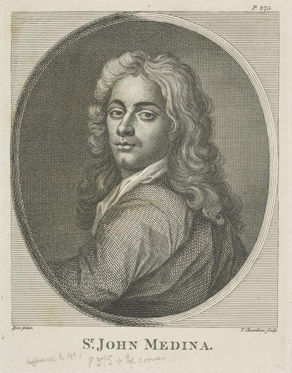 Sir John Baptiste de Medina, 1659 - 1710. Portrait painter