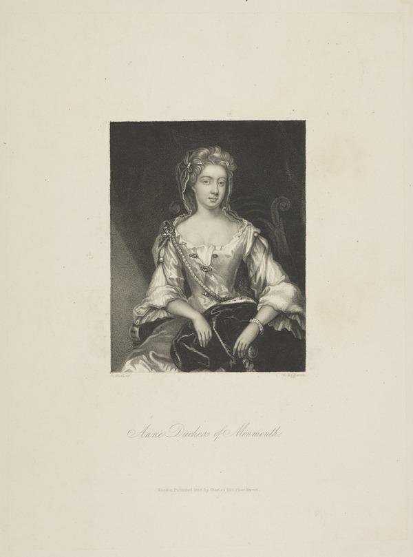 Anne Scott, 2nd Countess and 1st Duchess of Buccleuch, 1651 - 1732 (1834)