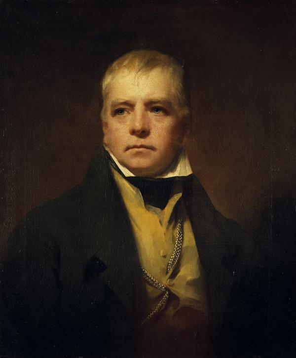 Sir Walter Scott, 1771 - 1832. Novelist and poet (1822)