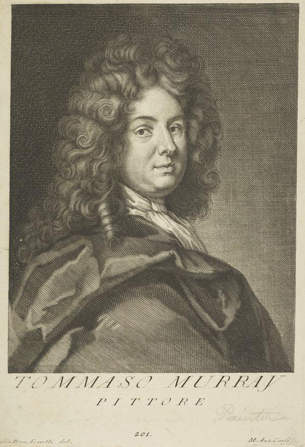 Thomas Murray, 1663 - 1734. Portrait painter