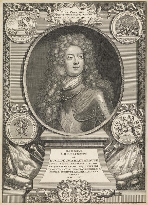 John Churchill, 1st Duke of Marlborough, 1650 - 1722. General