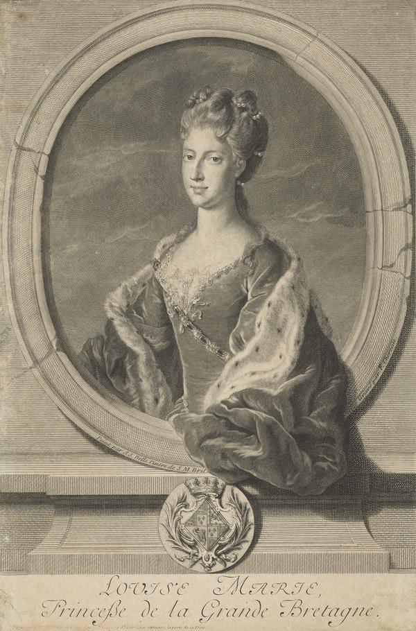 Princess Louisa, 1692 - 1712. Daughter of James VII and II