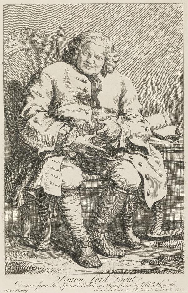 Simon Fraser, Lord Lovat, 1667/8 - 1747. Jacobite (1746)