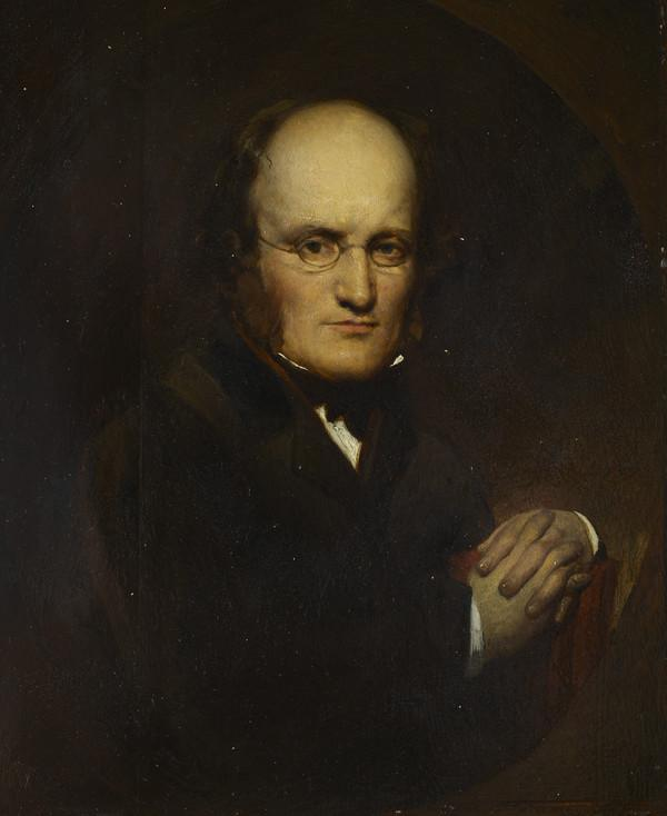 Dr John Brown, 1810 - 1882. Physician and author of Rab and his Friends (About 1850)