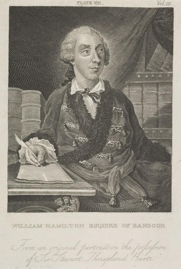 William Hamilton of Bangour, 1704 - 1754. Poet