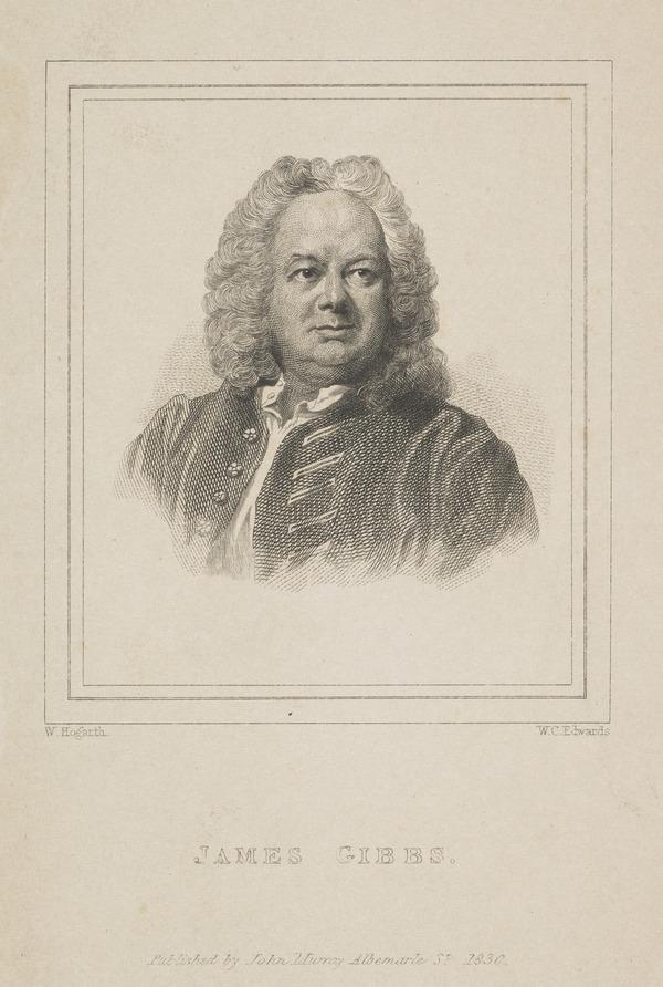 James Gibbs, 1682 - 1754. Architect (Published 1830)
